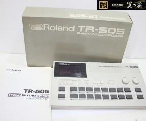 ローランドのTR505リズムマシーン
