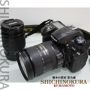 Nikonニコンの一眼レフカメラD200 レンズ28-80mm 18-200mm