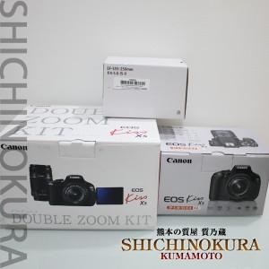 キャノンのデジタルカメラEOS Kiss X5ダブルズームキット