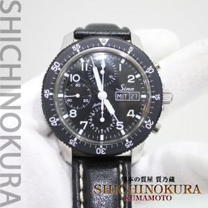 ジンSinnの時計パイロットクロノグラフ103自動巻