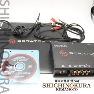 スクラッチライブのRANE Serato SCRATCH Live