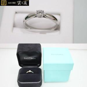 ティファニー PT950D0.24 ダイヤリング指輪 3.8g
