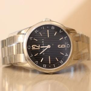 ブルガリの時計 ソロテンポ ST37BSS