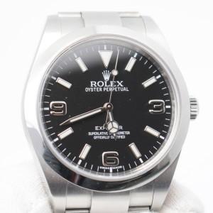 ロレックスの時計 エクスプローラーⅠ214270を買取