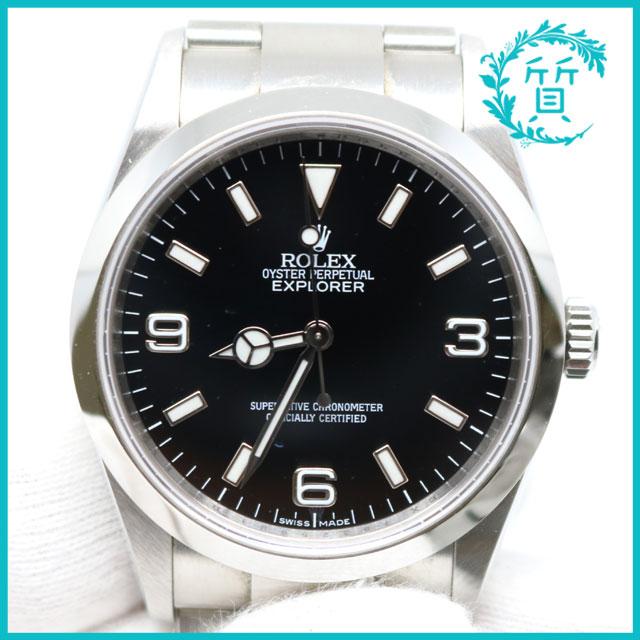 super popular 6c11a 9e0b5 熊本市西区よりロレックスの時計エクスプローラー14270を買取 ...